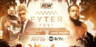 نتائج عرض AEW دايناميت Fyter Fest الليلة الاولى 1-7-2020 كامل