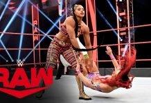 نتائج عرض WWE لايف الاخير 4-7-2020 كامل