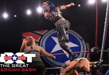 نتائج عرض WWE NXT Great American الاخير 1-7-2020 كامل